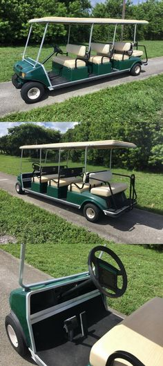 Golf Carts For Sale, 8 Passengers, Best Tyres, Rear Brakes, Limo, Club