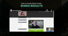 Rhino Results System Review + OTO - by Dawud Islam - Brand New System That Consist 3 High Quality Products Pro To Give Away For Free That Help You To Easily Build Your List For Free In The Same Way That I Do, But You Will Also Earn Big Commissions On The Rest Of The Sales Funnels While You Are Building Your List And Get Method Teaches An Effective, Sustainable Method To Build An Affiliate Marketing Business And To Earn Money While You Are Doing It Get Rich Quick, How To Get Rich, Get Method, Shoulder Training, Solo Ads, Squeeze Page, Free In, Business Marketing, Earn Money