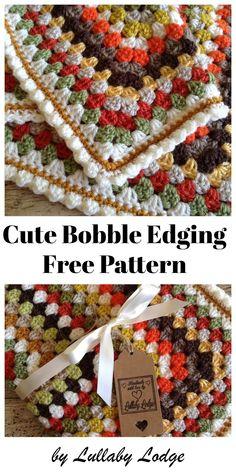 Transcendent Crochet a Solid Granny Square Ideas. Inconceivable Crochet a Solid Granny Square Ideas. Crochet Afghans, Crochet Blanket Edging, Crochet Edging Patterns, Crochet For Beginners Blanket, Crochet Borders, Crochet Patterns For Beginners, Crochet Tutorials, Crochet Ideas, Crochet Edgings