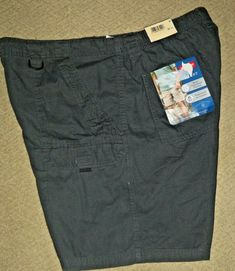 1e43b429f1 Above knee hiker shorts. 2 front cargo flap pockets with Velcro closure.