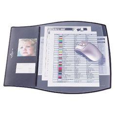 Durable® Work Pad, 3 Overlays, 17 1/4 x 15 1/4, Black : Target