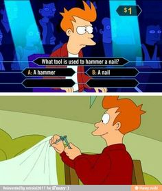 I love love love Fry! Just watched this the other day
