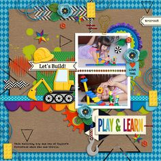 Uses Children's Museum, Children's Museum Add-on, and Geometric Paint all by Clever Monkey Graphics