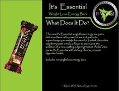 Feeling the wrath of the mid-afternoon crash and snack cravings? Get the It's Essential energy bar from ItWorks!! Gives your energy a boost and satisfies your snack craving! Http:// cherylhrodriguez.myitworks.com