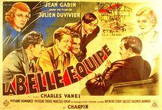 La belle équipe - Julien Duvivier - Jean Gabin 1936