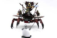 Goblin Battle Platform Front | by Jeddy and Daddy Lego Mechs, Lego Minifigs, Steampunk Lego, Lego Village, Lego Army, Lego People, Lego Castle, Awesome Lego, Lego Figures