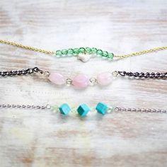 DIY Beaded Bracelets Love the blue one