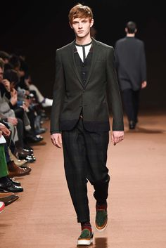 dark plaids   Kolor - Fall 2015 Menswear - Look 31 of 39