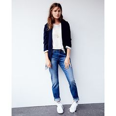 Women's Denim : Skinny, Straight, & Slim Jeans | Madewell Boys Jeans, Clothes Horse, Slim Jeans, Summer Wardrobe, Spring Outfits, Madewell, Cameron Russell, Normcore, Eyelash Curler