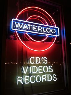 Waterloo Records inAustin!! This is where I will be tomorrow:)) my favorite record store!