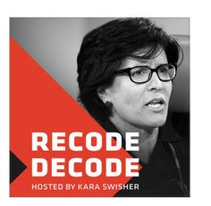 ‎Kara Swisher, Silicon Valley's most revered journalist, hosts candid interviews with tech execs, politicians, celebrities and more about their big ideas and how they're changing our world. Produced by Recode and the Vox Media Podcast Network. Netflix, Ai Machine Learning, Tesla Ceo, Vox Media, This Is Your Life, Decoding, Today Show, King Kong, Kara