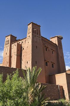 the ancient kasbah of Ait Benhaddou, Morocco  | UNESCO World Heritage Site