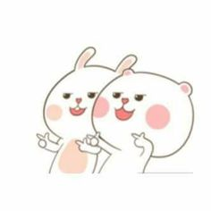 Couple Cartoon, Cartoon Pics, Cute Screen Savers, Korean Stickers, Cute Kawaii Animals, Cute Memes, Cute Characters, Cute Gif, Cute Illustration