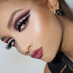 IG: glamgk   #makeup
