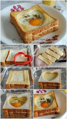 Have this delicious baked egg and cheese toast for breakfast - recipe . - Have This Delicious Baked Egg And Cheese Toast For Breakfast – Recipe – # - Cheese Toast, Egg Toast, Toast Pizza, Cheese Bread, Mac Cheese, Cheddar Cheese, Breakfast Bake, Breakfast Recipes, Cheddar