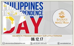 A nation's culture resides in the hearts and in the soul of its people. Celebrate freedom and enjoy this little paradise here Badian Island Wellness Resort!  06.12.17 #badianisland #Philippines #IndependenceDay #cebusouth #beautifuldestinations salesreservations@badianwellness.com Tel. no: (032) 401-3303, (032) 401-3305, (032) 475-0010