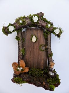 Hey, I found this really awesome Etsy listing at https://www.etsy.com/listing/460094338/pearly-fairy-door-by-fairies-of
