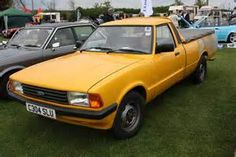 The Ford Cortina P100 pickup! For those times when you need a small pickup truck, and a Rabbit Caddy wasn't available...