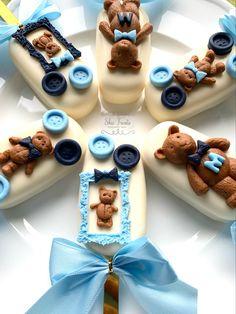Baby Shower Cake Designs, Baby Shower Cupcakes For Boy, Baby Shower Treats, Baby Shower Cakes, Confectionery Recipe, Paletas Chocolate, No Bake Cake Pops, Magnum Paleta, Lolly Cake