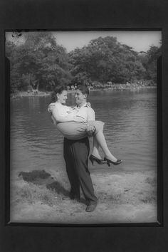 Couple at Prospect Park