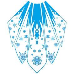 Elsa Cape Design by katinka0921 on deviantART