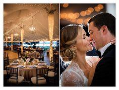 Wedding Reception Lighting, Blithewold, Newport RI © Snap Weddings