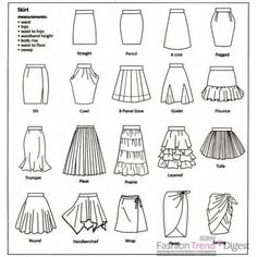 Types of Skirts found on Polyvore