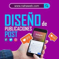 Sabemos que quieres estas en las redes sociales  pero el tempo es muy limitado sobre todo cuando quieres atender muy bien tu negocio pero también es importante no olvidar tu presencia digital  ya que es el mejor método de ventas en la actualidad. por eso @nahaweb trae para ti el servicio de manejo de redes sociales que además de gestionar tus redes sociales incluye el diseño de cada una de las publicaciones que se subirán en todo el mes.  Genial no?  www.nahaweb.com  #latinoamerica #america…
