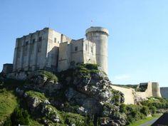 château de Guillaume le Conquérant. Falaise. Normandie