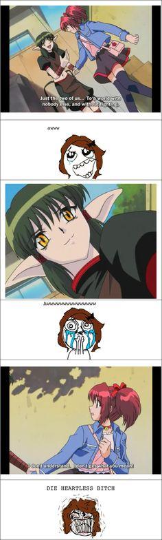 :( Dren/Kisshu from Tokyo Mew Mew