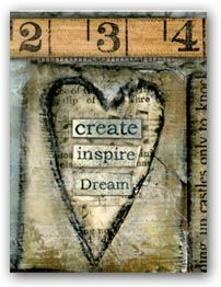 LISA KAUS Shop for mixed media collage and artful home decor plus beautiful fine stationery!