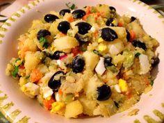 Rețetă pentru cea mai gustoasă salată orientală de post: secretul pe care puține gospodine îl știu. Salata orientala este un preparat nelipsit de pe mesele de sarbatoare ale romanilor, chiar si in postul Pastelui, perioada in care aceasta poate fi transformata astfel incat sa nu invite mesenii la pacate. Iata o salata orientala de post … Fruit Salad, Risotto, Oatmeal, Breakfast, Ethnic Recipes, Food, Tasty, Salads, The Oatmeal