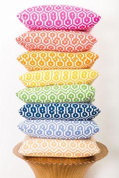 Orange Santorini Pillow – Society Social