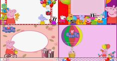 Oh My Fiesta! in english: Peppa Pig: Free Printable Invitations, Labels or Cards.
