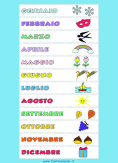 Italian Words, Italian Language, Learning Italian, Montessori, Vocabulary, Homeschool, Classroom, Teaching, Gaia
