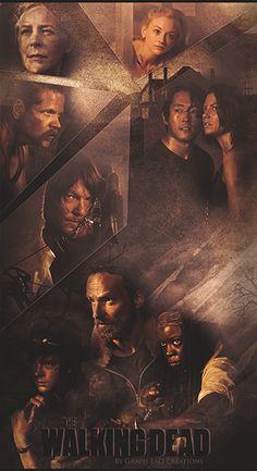 Fond d'ecran Samsung Walking Dead by Evanaelle ...... !!!!