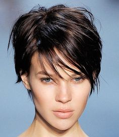 Britt Maren.  style for growing out my pixie