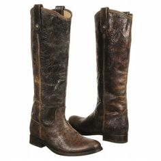 Frye Melissa Button Boot Boots (Chocolate Vintage) - Women's Boots - 5.5 M