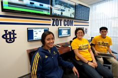 Sports' social media hub: Zot Com coordinates multi-platform efforts to further engage UC Irvine Athletics fan base.  #UCIrvine #UCI #athletics #socialmedia