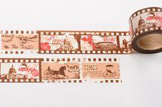 Vintage Film Washi Tape