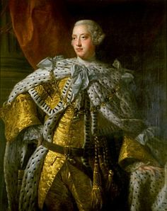 King George III was the King of England. He was mentally crazy. Many say he was crazy from being inbred.