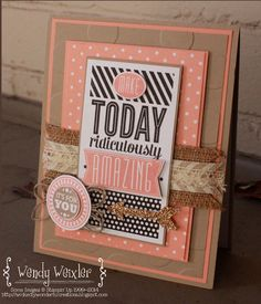 Wickedly Wonderful Creations: Stamp Review Crew - Amazing Birthday Edition
