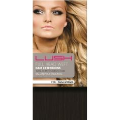 Our DIY Weft sets contain a single 36 inch (3 feet) wide weft of hair which can be transformed into your own custom set of hair extensions or even weaved in as a more permanent fixture to your hair.For more information visit here:http://www.lushhairextensions.co.uk/Natural_Black