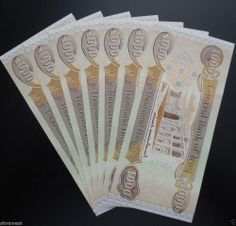New 1000 Iraqi Dinar 1x Notes Uncirculated Ships Daily From Usa Rl