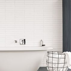 White Column - Ladrillo - Wall & Floor Tiles | Fired Earth