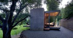 Swatt Miers Architects have designed a group of Tea Houses in Silicon Valley, California - #architecture