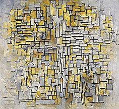 Piet Mondriaan - Compositie VII (1913)