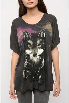 Silence & Noise Oversized Animal Print Tee ($20-50) - Svpply