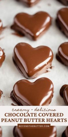 These Chocolate Covered Peanut Butter Hearts are so easy to make, require very little ingredients, and taste amazing with their rich, chocolatey outside and creamy, peanut buttery filling on the inside. And the best part, whoever you give these to will be super impressed and touched that you took the time to make these delectable treats just for them! #chocolate #chocolatepeanutbutter #chocolatelover #valentinesdaytreats #easyvalentinesdaytreats #beyondthebutter Peanut Butter Tree, Peanut Butter Dessert Recipes, Chocolate Peanut Butter Cheesecake, Peanut Butter Filling, Butter Recipe, Peanut Butter Cookies, Chocolate Desserts, Melting Chocolate, Cookie Recipes