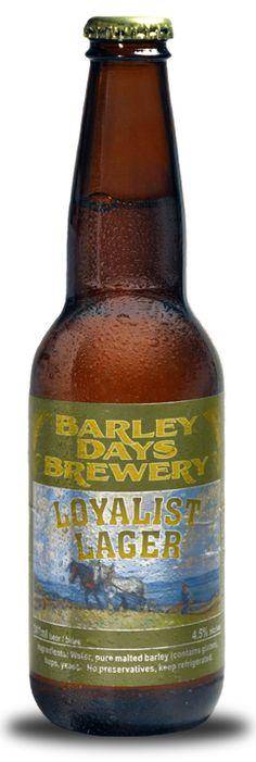 Loyalist Bottle - Barley Days Brewery